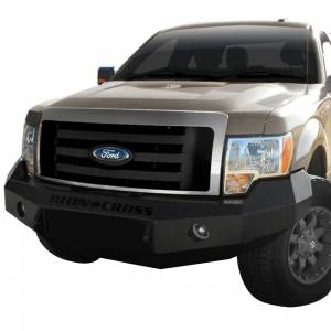 Iron Cross - Iron Cross 20-425-17-MB Base Winch Front Bumper for Ford F250/F350/F450 2017-2019 - Matte Black - Image 2