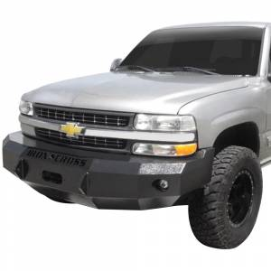 Iron Cross - Iron Cross 20-515-99-MB Base Winch Front Bumper for Chevy Silverado 1500 1999-2002 - Matte Black - Image 2