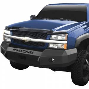 Iron Cross - Iron Cross 20-525-03-MB Base Winch Front Bumper for Chevy Silverado 2500/3500 2003-2006 - Matte Black - Image 2