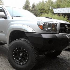 Iron Cross - Iron Cross 20-705-07-MB Base Winch Front Bumper for Toyota Tacoma 2005-2011 - Matte Black - Image 3