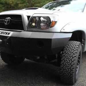 Iron Cross - Iron Cross 20-705-07-MB Base Winch Front Bumper for Toyota Tacoma 2005-2011 - Matte Black - Image 4