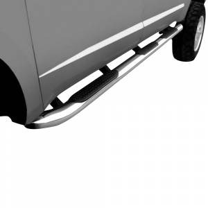"""Iron Cross - Iron Cross 43-414 Wheel to Wheel 4"""" Long Bed Tube Step for Ford F250/F350/F450/F550 Crew Cab 1999-2016 - Stainless Steel - Image 2"""