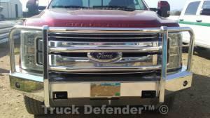 Truck Defender - Truck Defender Aluminum Front Bumper Ford F250/F350 2017-2021