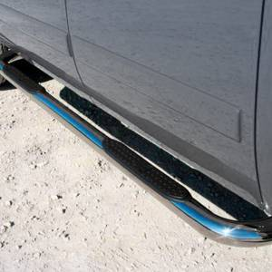 """Iron Cross - Iron Cross 51-550 Cab Length 3"""" Tube Step for Chevy Colorado and GMC Canyon Regular Cab 2004-2014 - Stainless Steel - Image 2"""