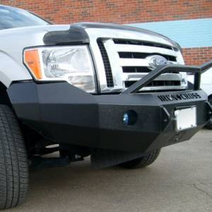 Iron Cross - Iron Cross 22-415-09 Winch Front Bumper with Push Bar for Ford F150 2009-2014 - Gloss Black - Image 8