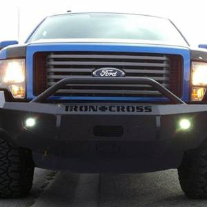 Iron Cross - Iron Cross 22-415-09-MB Winch Front Bumper with Push Bar for Ford F150 2009-2014 - Matte Black - Image 4