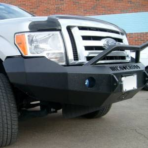 Iron Cross - Iron Cross 22-415-09-MB Winch Front Bumper with Push Bar for Ford F150 2009-2014 - Matte Black - Image 8