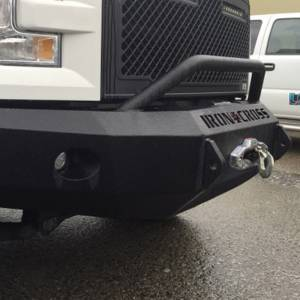 Iron Cross - Iron Cross 22-415-18-MB Winch Front Bumper with Push Bar for Ford F150 2018-2019 - Matte Black - Image 3