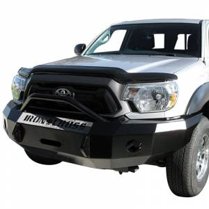 Iron Cross - Iron Cross 22-705-12-MB Winch Front Bumper with Push Bar for Toyota Tacoma 2012-2015 - Matte Black - Image 2