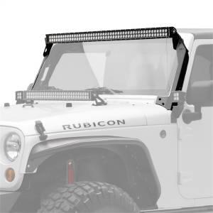 Exterior Lighting - LED Light Bar - KC HiLites - KC HiLites 366 C50 LED Light Bar And Bracket Kit