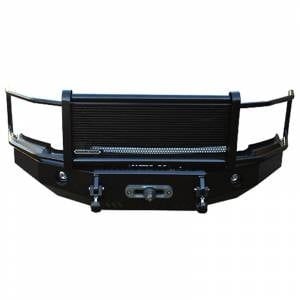 Iron Cross Front Bumper with Full Grille Guard - Ford - Iron Cross - Iron Cross 24-425-17-MB Winch Front Bumper with Grille Guard for Ford F250/F350/F450 2017-2021 - Matte Black