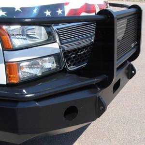 Iron Cross - Iron Cross 24-515-03-MB Winch Front Bumper with Grille Guard for Chevy Silverado 1500 2003-2006 - Matte Black - Image 5