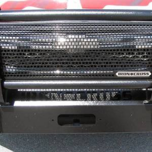 Iron Cross - Iron Cross 24-525-03-MB Winch Front Bumper with Grille Guard for Chevy Silverado 2500/3500 2003-2006 - Matte Black - Image 3