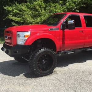Iron Cross - Iron Cross 40-425-11 Low Profile Front Bumper for Ford F250/F350 2011-2016 - Gloss Black - Image 8