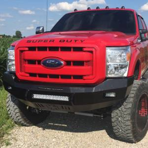 Iron Cross - Iron Cross 40-425-11 Low Profile Front Bumper for Ford F250/F350 2011-2016 - Gloss Black - Image 9