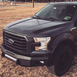 Iron Cross - Iron Cross 40-415-15 Low Profile Front Bumper for Ford F150 2015-2017 - Gloss Black - Image 4