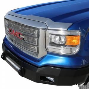 Iron Cross - Iron Cross 40-315-14 Low Profile Front Bumper for GMC Sierra 1500 2014-2015 - Gloss Black