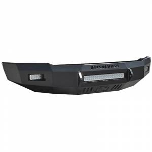 Iron Cross - Iron Cross 40-425-99 Low Profile Front Bumper for Ford F250/F350 1999-2004 - Gloss Black - Image 1