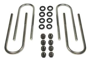 """1973-1987 Chevy Truck 1/2 ton 4wd (lifted with 2"""" to 4"""" blocks) - Rear Axle U-Bolts Tuff Country - 17753"""