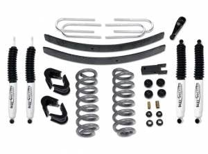 "Suspension Parts - Lift Kits - Tuff Country - 1973-1979 Ford F150 4x4 - 4"" Lift Kit by (fits models with 3"" wide Rear springs) Tuff Country - 24712K"