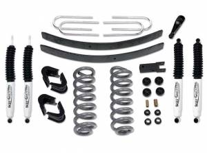 "Suspension Parts - Lift Kits - Tuff Country - 1973-1979 Ford F150 4x4 - 4"" Lift Kit by (fits modesl with 2.5"" wide Rear springs) Tuff Country - 24713K"