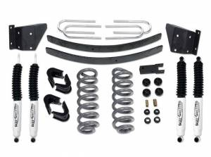 "Suspension Parts - Lift Kits - Tuff Country - 1973-1979 Ford F150 4x4 - 4"" Performance Lift Kit by (fits models with 2.5"" wide Rear springs) Tuff Country - 24711K"