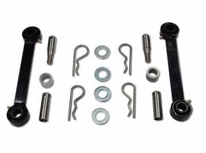 Suspension Parts - Sway Bars - Tuff Country - 1976-1986 Jeep CJ7 - Front sway bar quick disconnects (pair) Tuff Country - 41807