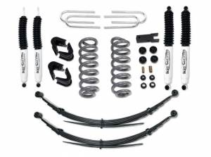 """1978-1979 Ford Bronco 4x4 - 4"""" Lift Kit with Rear Leaf Springs by Tuff Country - 24716K"""