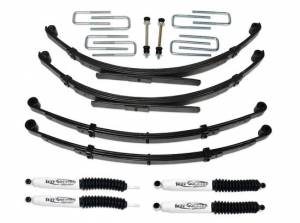 """1979-1985 Toyota Truck 4x4 - 3.5"""" Lift Kit with Rear Leaf Springs & SX8000 Shocks by Tuff Country - 53701KN"""