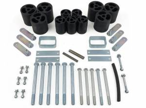 """Suspension Parts - Body Lift Kits - Tuff Country - 1986-1995 Jeep Wrangler YJ (with manual transmission) - 3"""" Body Lift Kit Tuff Country - 43615"""