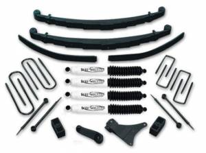 """1986-1997 Ford F350 4x4 Crewcab - 4"""" Lift Kit by Tuff Country - 24832K"""