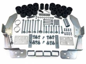 """Suspension Parts - Body Lift Kits - Tuff Country - 1988-1994 Chevy Truck 1500, 2500 & 3500 2wd & 4x4 (standard, extended & crew cab) - 3"""" Body Lift Kit (includes Rear Bumper Raise Brackets) Tuff Country - 13615"""