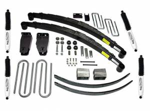 """1988-1996 Ford F250 4x4 - 4"""" Lift Kit by (fits models with diesel or 460 gas engine) Tuff Country - 24826K"""