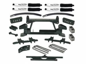 """1988-1997 Chevy Truck K2500/3500 4x4 (8 Lug) - 6"""" Lift Kit by (fits models with cast lower control arms) Tuff Country - 16823"""
