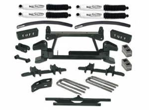"""1988-1997 Chevy Truck K2500/3500 4x4 (8 Lug) - 6"""" Lift Kit by (fits models with stamped lower control arms) Tuff Country - 16824"""