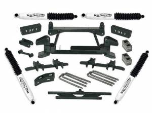 """1992-1998 Chevy Suburban 2500 (8lug) 4x4 - 4"""" Lift Kit by (fits models with stamped lower control arms) Tuff Country - 14854"""