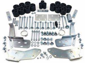 """Suspension Parts - Body Lift Kits - Tuff Country - 1995-1998 Chevy Truck 1500, 2500 & 3500 2wd & 4x4 (standard cab, extended cab & crew cab) - 3"""" Body Lift Kit (includes Rear Bumper Raise Brackets) Tuff Country - 13665"""