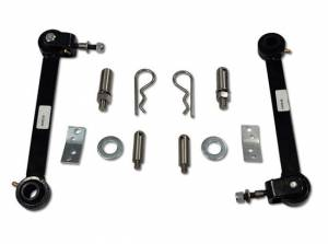 Suspension Parts - Sway Bars - Tuff Country - 1997-2006 Jeep Wrangler TJ - Front sway bar quick disconnects (pair) Tuff Country - 41806