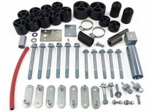 """Suspension Parts - Body Lift Kits - Tuff Country - 1997-2006 Jeep Wrangler TJ Rubicon & Unlimited (with 5 speed or auto transmission) - 2"""" Body Lift Kit Tuff Country - 42625"""