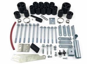 """Suspension Parts - Body Lift Kits - Tuff Country - 1997-2006 Jeep Wrangler TJ Rubicon & Unlimited (with 5 speed or auto transmission) - 3"""" Body Lift Kit Tuff Country - 43625"""