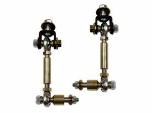 Suspension Parts - Sway Bars - Tuff Country - 1998-2001 Dodge Ram 1500 4wd - Front Adjustable Sway Bar End Links (with heim joints) Tuff Country - 30927