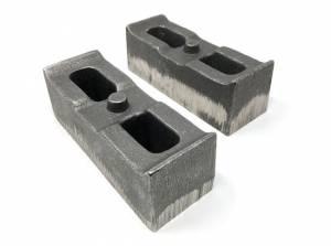 "2001-2010 Chevy Silverado 2500HD/3500HD 4wd - 2"" Cast Iron Lift Blocks (pair) by Tuff Country - 79062"
