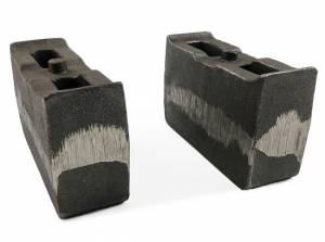 "2001-2010 Chevy Silverado 2500HD/3500HD 4wd - 4"" Cast Iron Lift Blocks (pair) by Tuff Country - 79059"