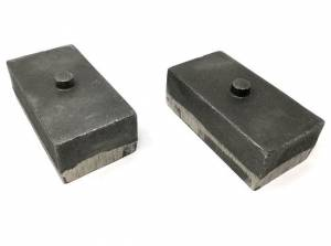 "Suspension Parts - Lift Blocks - Tuff Country - 2003-2013 Dodge Ram 2500 4wd - 2"" Cast Iron Lift Blocks (pair) by Tuff Country - 79022"