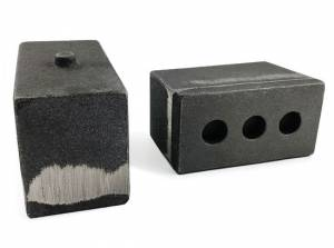 "Suspension Parts - Lift Blocks - Tuff Country - 2003-2013 Dodge Ram 2500 4wd - 4"" Cast Iron Lift Blocks (pair) by Tuff Country - 79061"