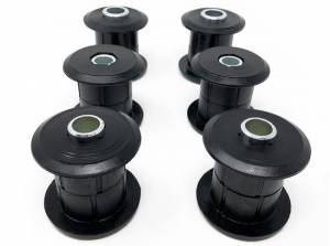 "Suspension Parts - Bushings - Tuff Country - 2003-2013 Dodge Ram 2500 4wd - Upper & Lower Control Arm Bushings & Sleeves (fits with ""Long Arm"" lift kits only) Tuff Country - 91315"