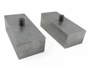 "2004-2015 Nissan Titan 4wd - 2"" Aluminum Lift Blocks (pair) by Tuff Country - 79068"