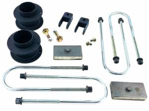 """Shock Absorbers & Accessories - Shock Absorbers - Tuff Country - 2019-2020 Dodge Ram 3500 4x4 - 3"""" Lift with Front Shock Extension Brackets Kit by Tuff Country - 33150"""