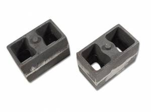 "Suspension Parts - Lift Blocks - Tuff Country - 4"" Cast Iron Lift Blocks (3"" wide, non-tapered) pair by Tuff Country - 79044"