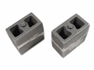 "Suspension Parts - Lift Blocks - Tuff Country - 5.5"" Cast Iron Lift Blocks (3"" wide, non-tapered) pair by Tuff Country - 79057"
